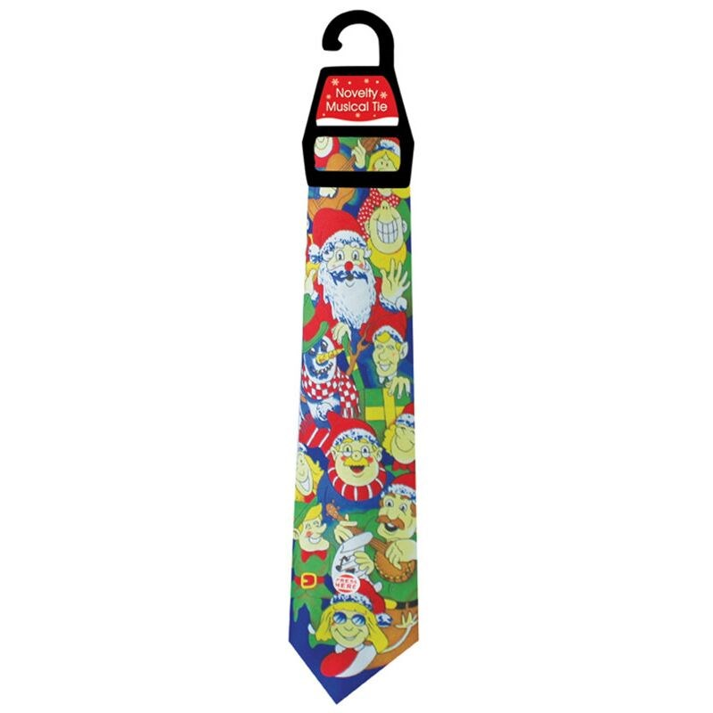 Liven up the office this Christmas, with the musical Christmas tie! One size available in 3 designs.